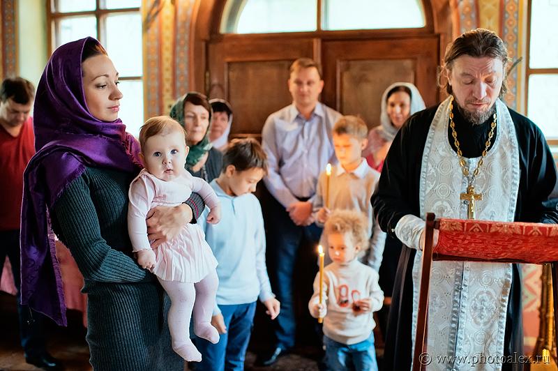 фотосъемка крестин Донской монастырь