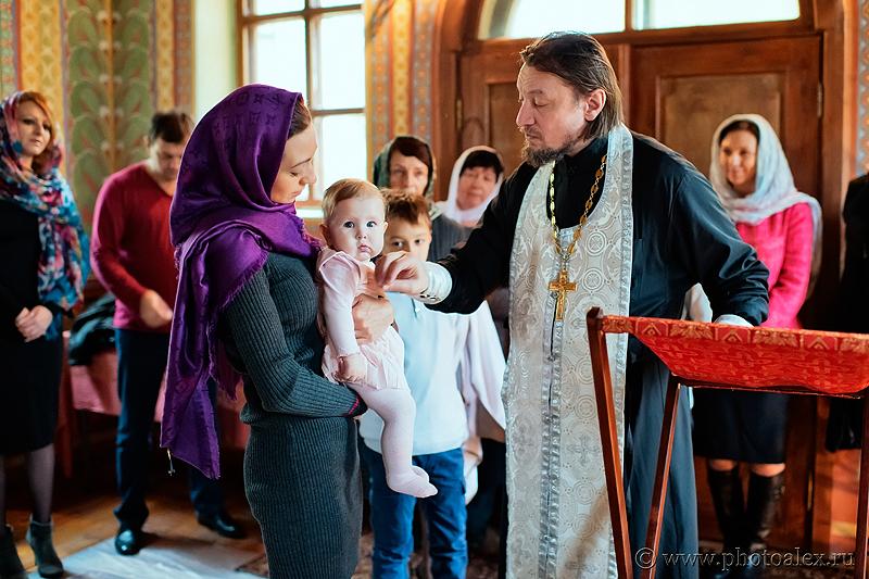 фото с крестин в Донском монастыре
