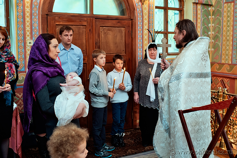 фотосессия крещения в Донском монастыре