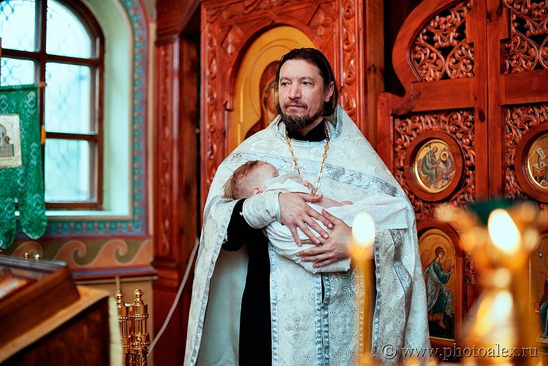 фотограф на крещение Донской монастырь