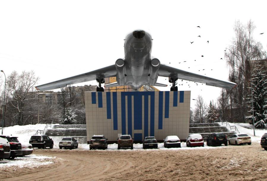 Рыбинск. Ту-104 самолёты,Ту,Ярославская область