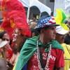 Uma garota de Samba, e o Mestre da Bateria
