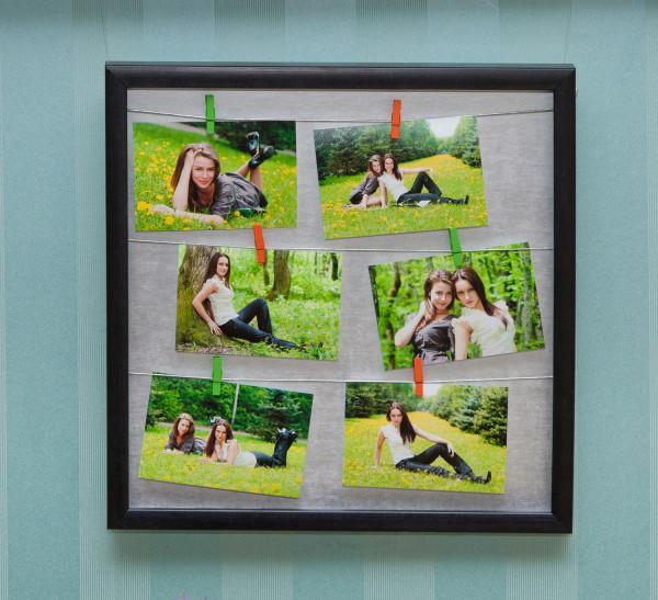 Идеи рамок для фото на стену своими руками - Ubolussur.ru