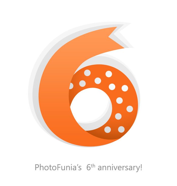PhotoFunia's 6th anniversary!