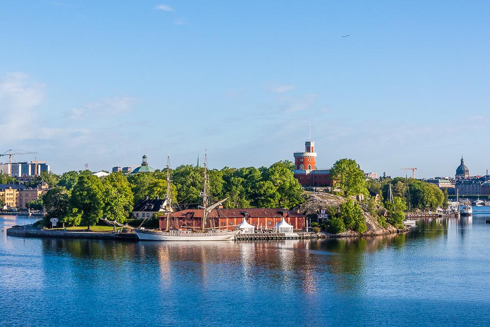 Стокгольм. Остров Kastellholmen и его пернатые обитатели