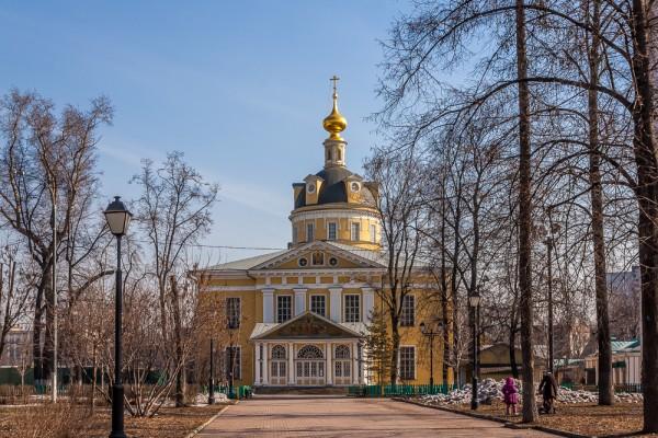Рогожская старообрядческая слобода в Москве