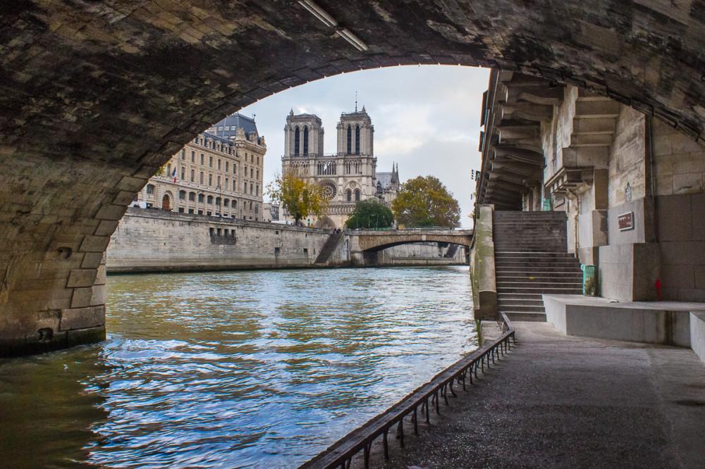 Ноябрь в Париже. Остров Ситэ
