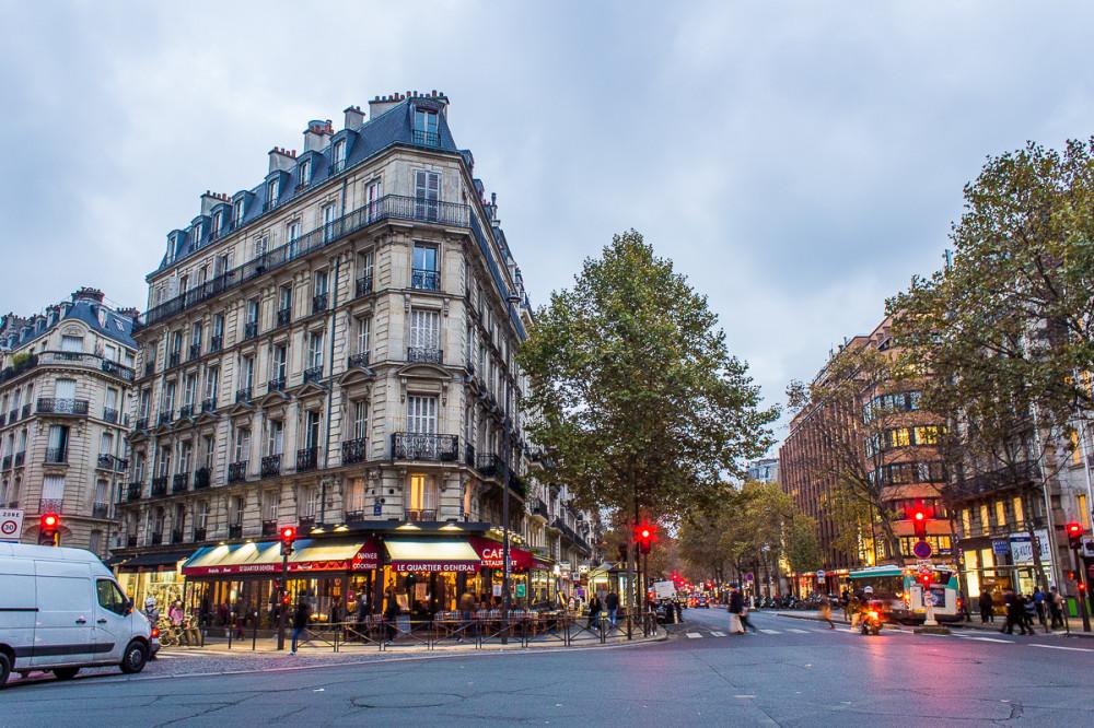 Ноябрь в Париже. Латинский квартал