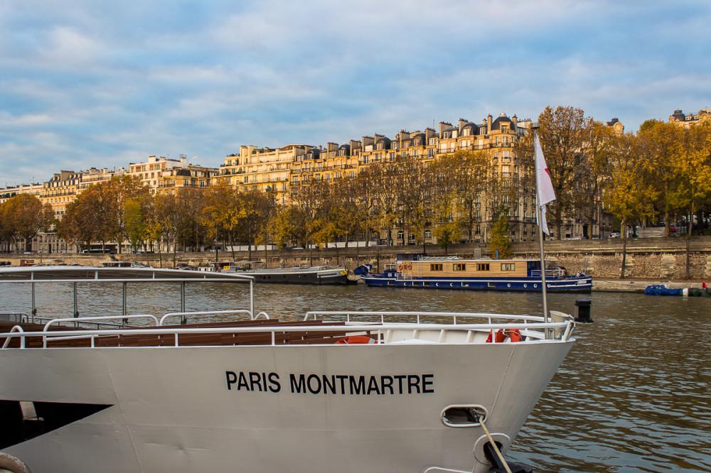 Ноябрь в Париже. Прогулки по городу