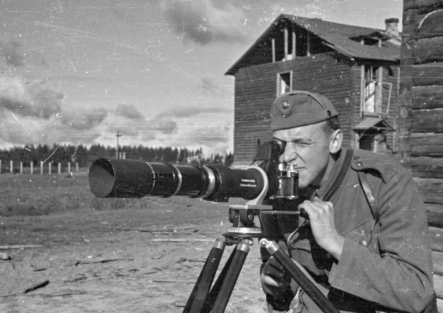 Финский артразведчик