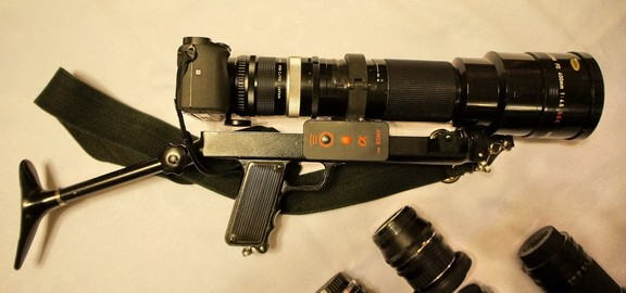 Canon FD 400-4.5