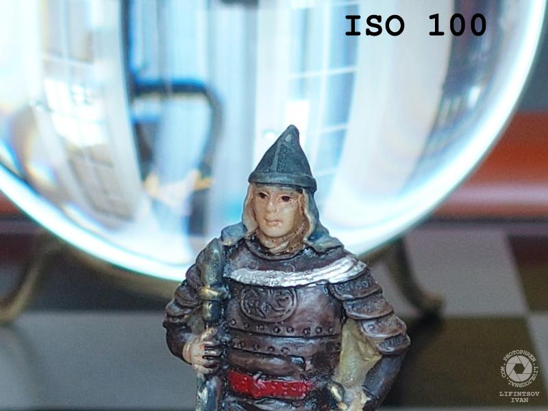 Olympus Stylus 1 ISO test