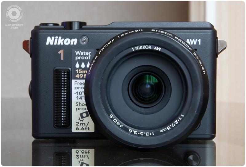 Nikon 1 AW1 4