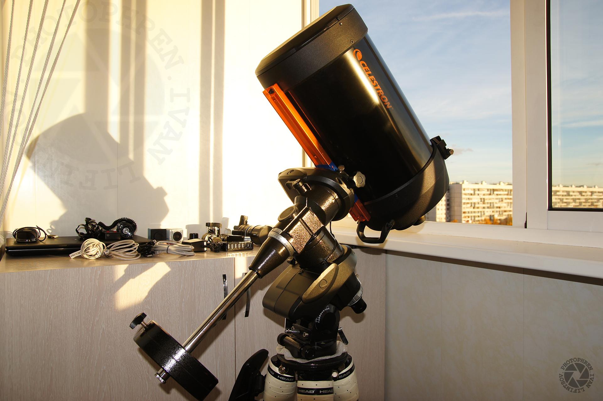 фотосъемка через телескоп