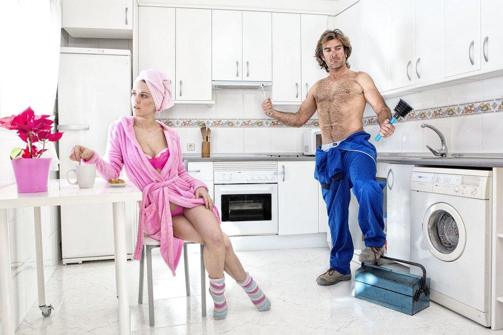 фото сексуальный сантехник