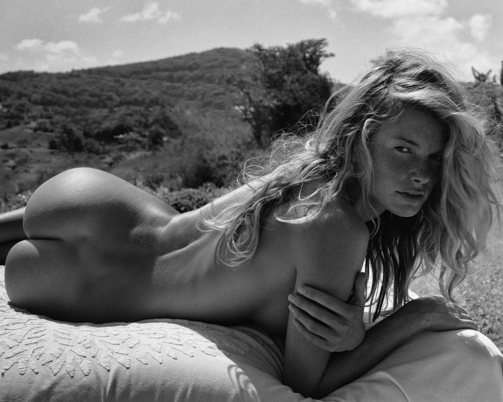 Suzanne Shaw Sunbathing Topless