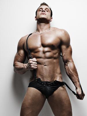 Male Underwear Model