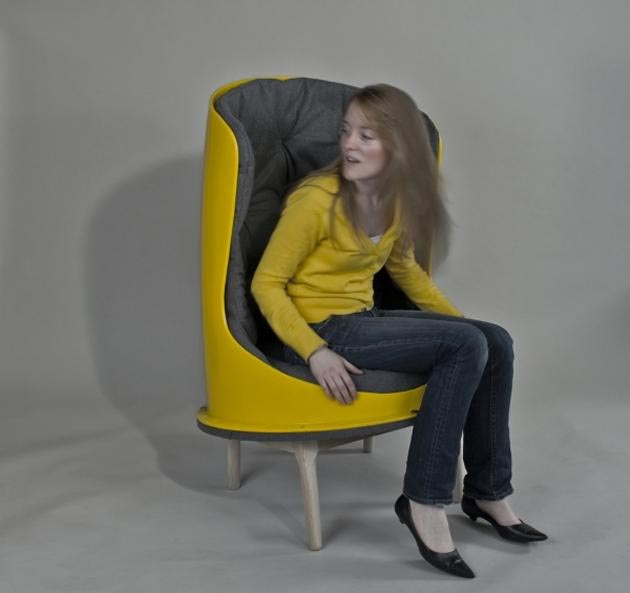 Yellow-The-Slide-Chair-by-Evan-Dublin