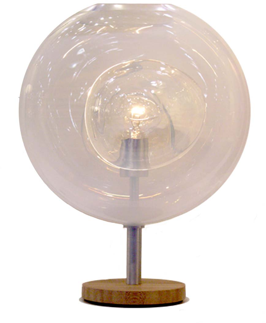 helios pedestal lamp no back