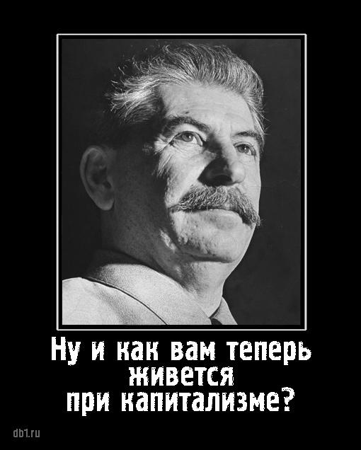 Товарищ Сталин ждет ответа на один простой вопрос