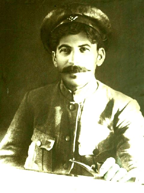 Сталин в 1918 году на Царицынском фронте.