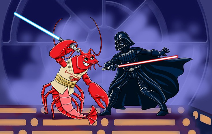 Lobster Jedi BG 735px