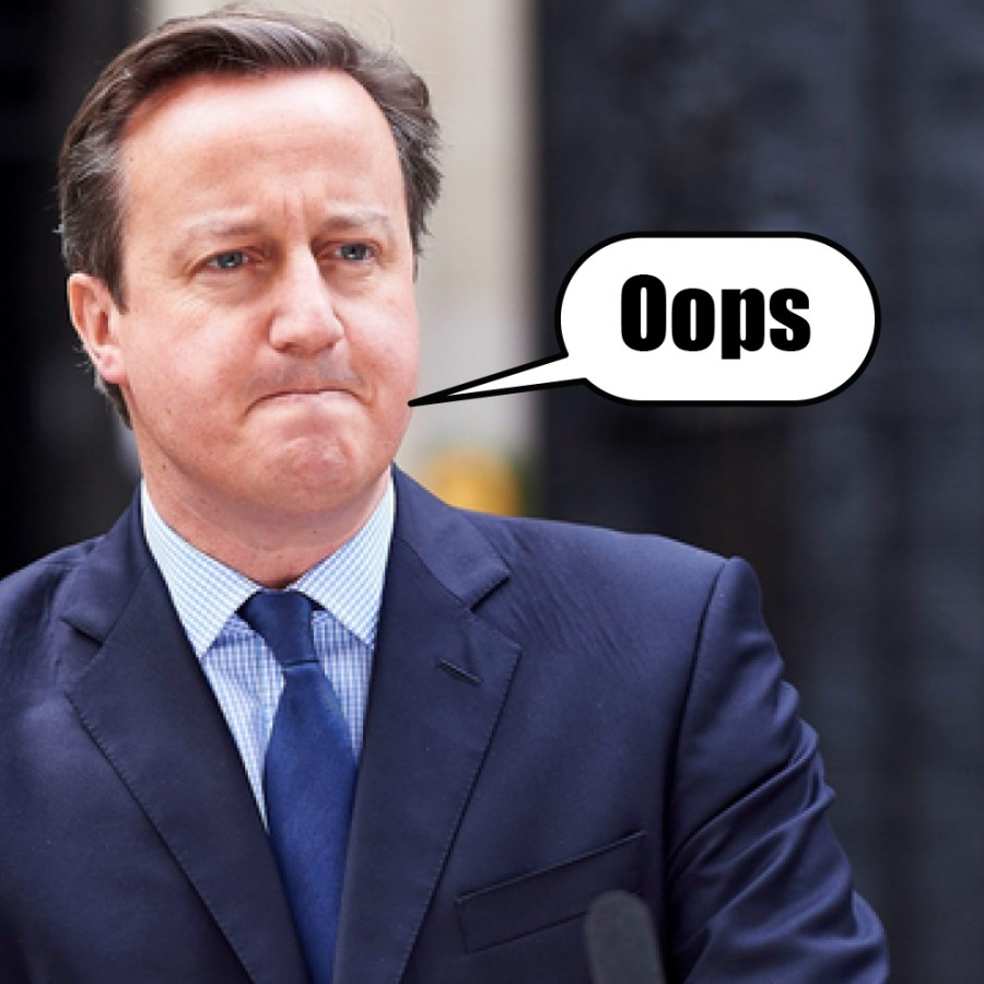 David Cameron Brexit fail idiot pm uk fucked up copy