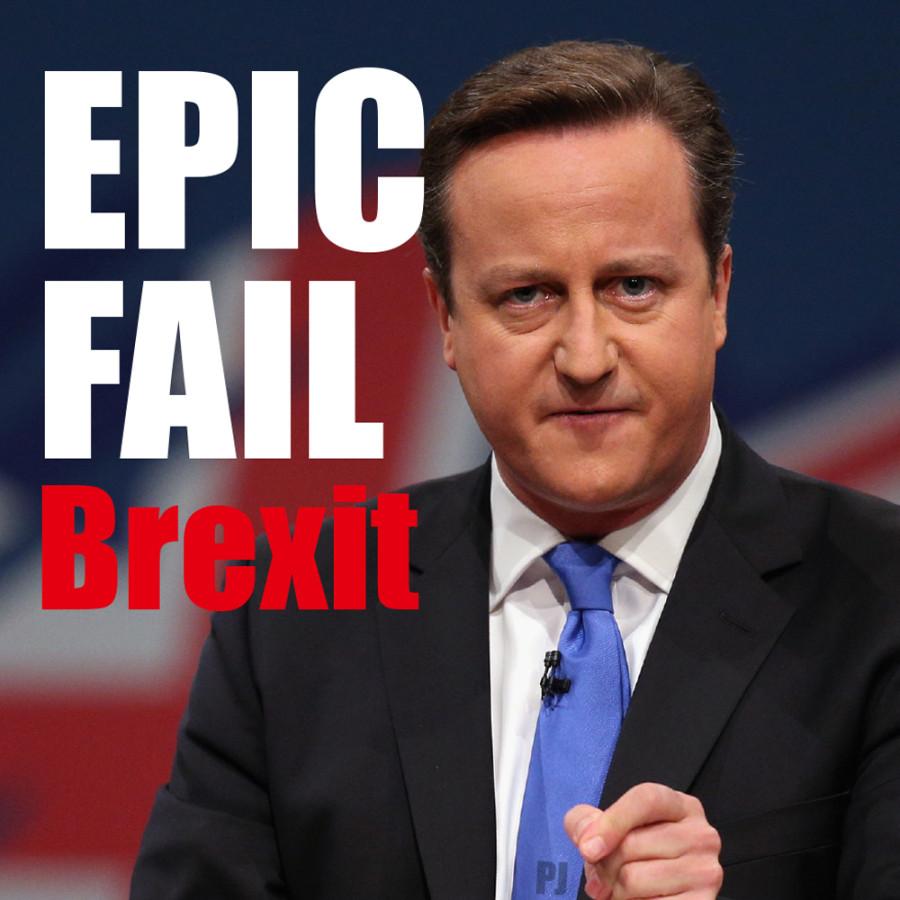 David Cameron Brexit fail idiot pm uk