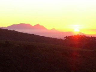 Table Mountain from Bridgett's place