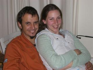 Roman and Bridgette