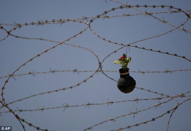 palestine barrier