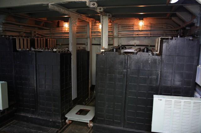 емкость аккумулятора для подводной лодки