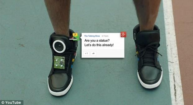 кроссовки от Google