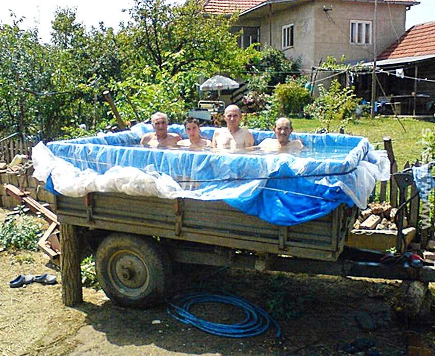 бассейн в кузове