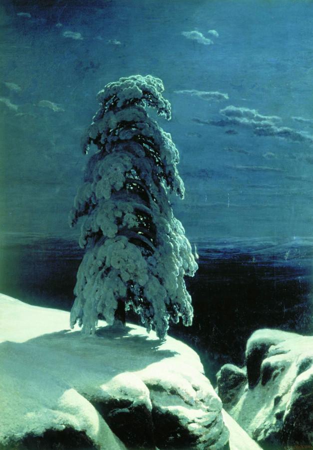 Шишкин На Севере диком 1891