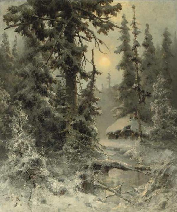 Клевер После снегопада
