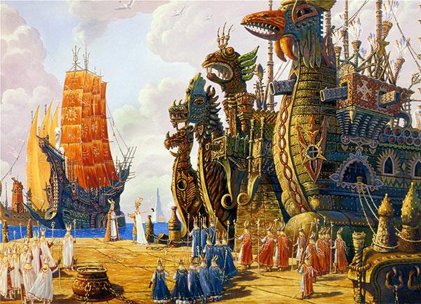 Флот Гипербореи выполнил приказ