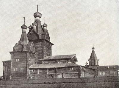 Кеврольско-Воскресенский приход. село Немнюга