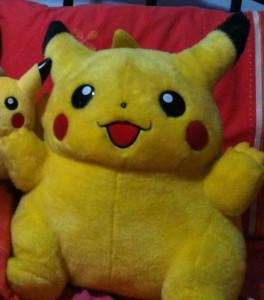 pikachu plush 2