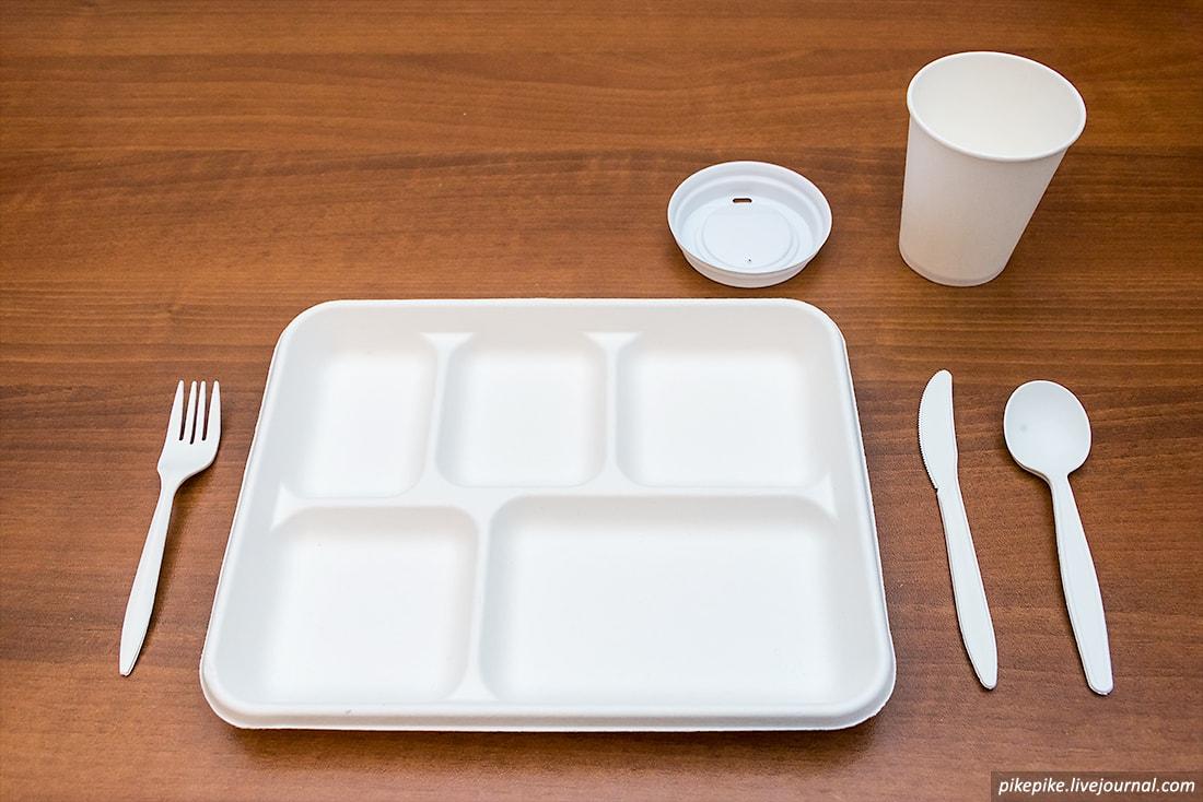 Общее фото одноразовой посуды