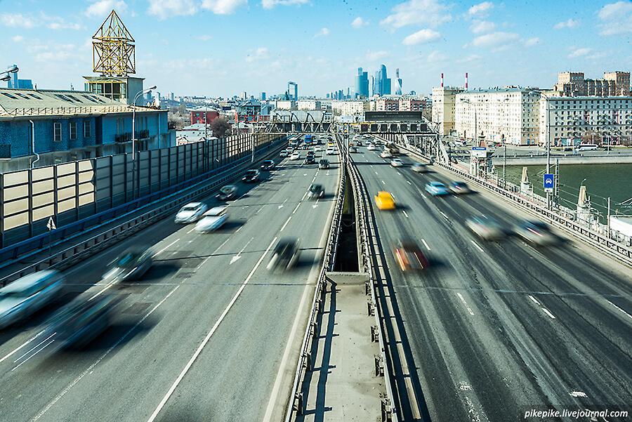 Андреевский мост. ТТК