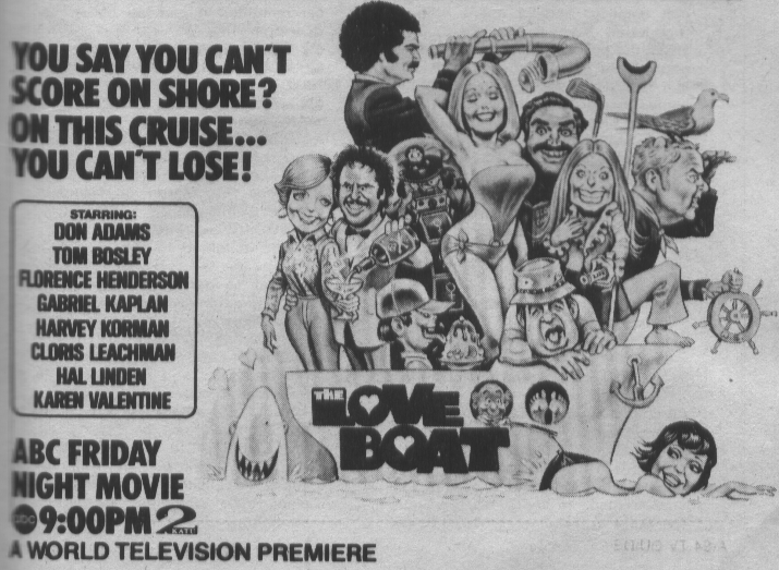 Love Boat TV Movie 1976