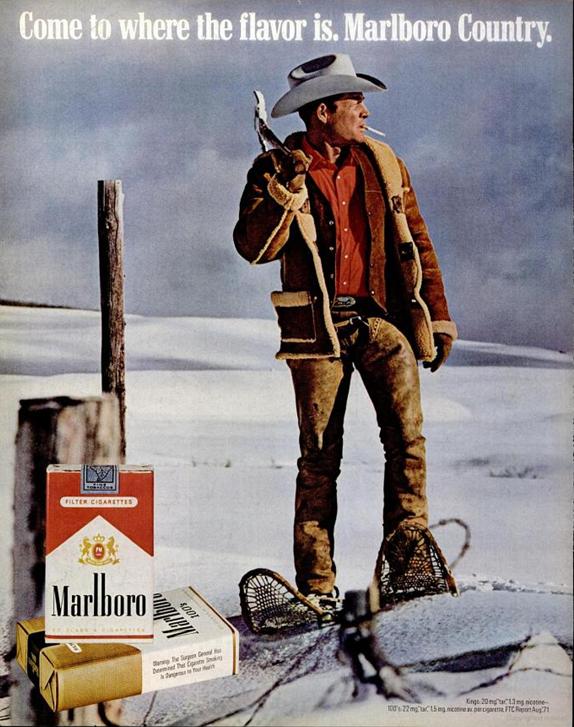 cowboy snowshoes Jan 1972
