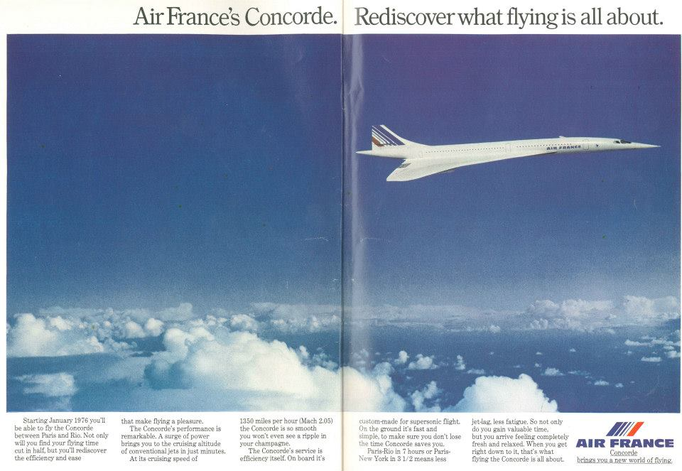 air france concorde 1975