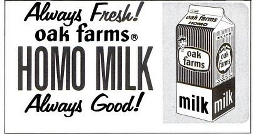 Oak Farms milk Alcade 9-66