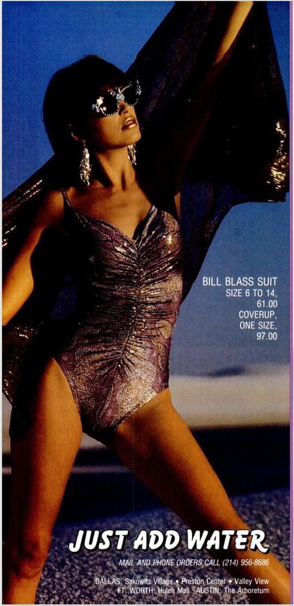 Bill Blass Suit TM Dec 85