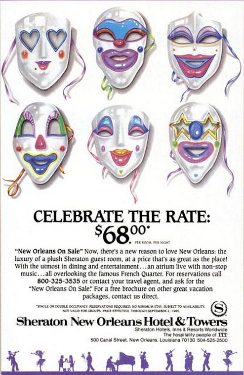 Sheraton New Orleans TM May 85
