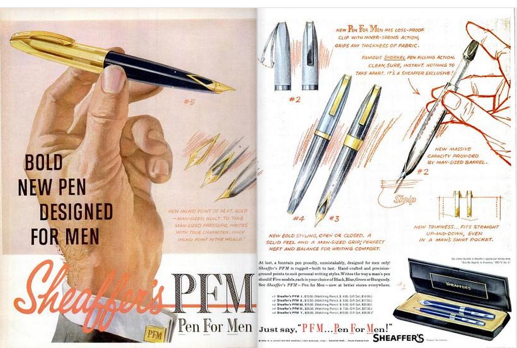 Sheaffer's Pen for Men Eb Dec 59