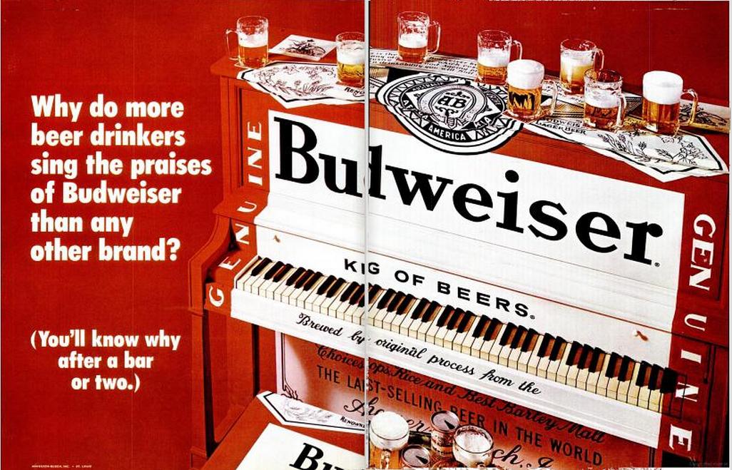 Budweiser 1970