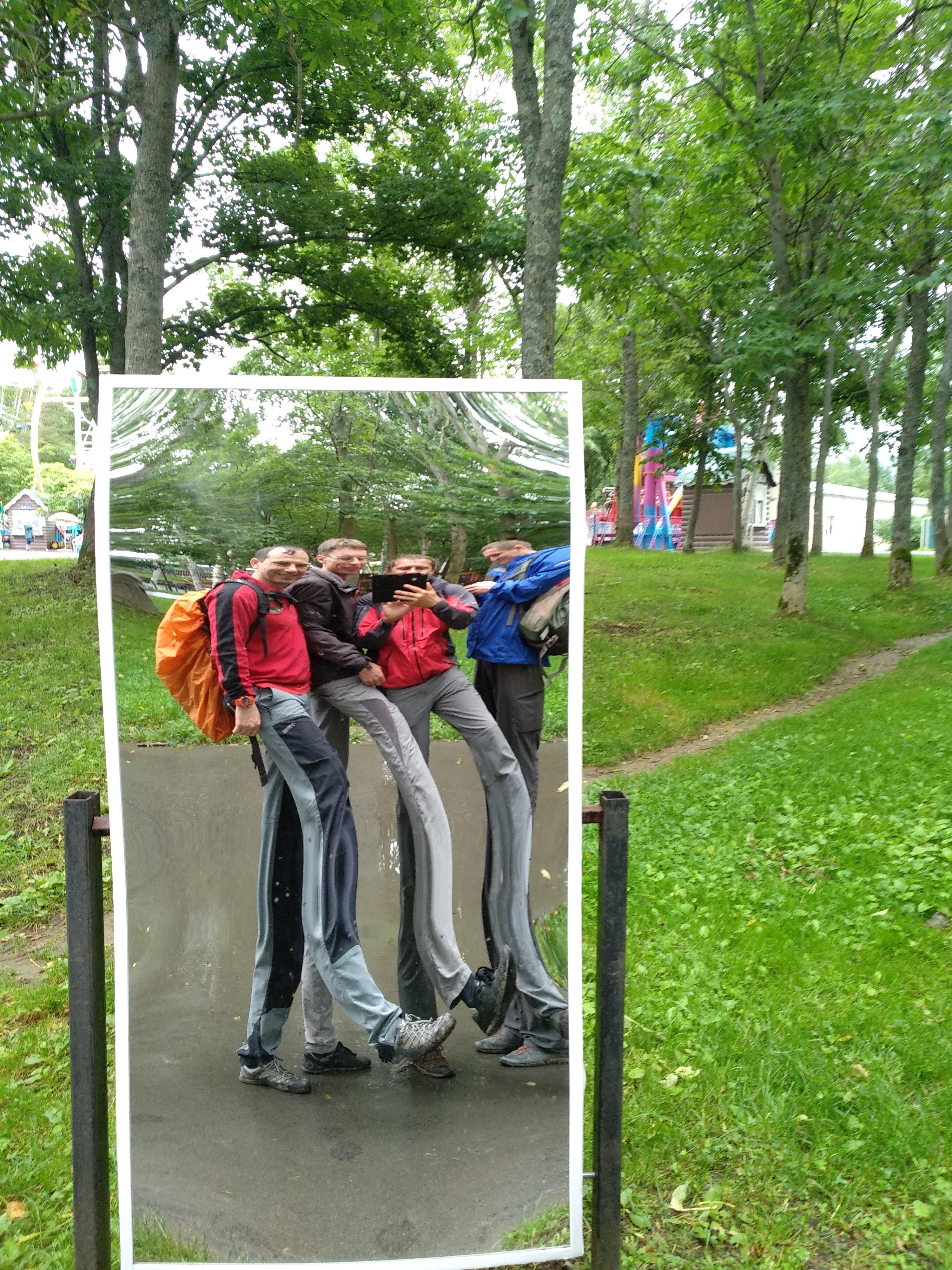 кривые зеркала в южно-сахалинске